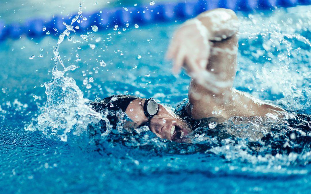 Professionel-Schwimmen-triathlon