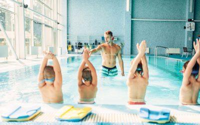 Schwimmkurs im Hallenbad Neunkirchen
